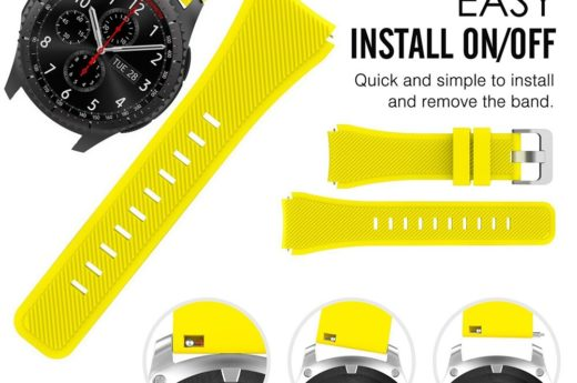 22mm Silicone band for samsung Galaxy Watch